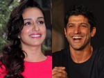 Farhan Akhtar Finally Talks About Links Ups With Shraddha Kapoor Aditi