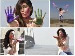 Kriti Sanon Holi Special Photoshoot B Town Celebs Holi Wishes Photos