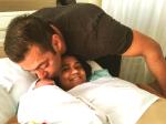 Salman Khan First Pic With Newborn Baby Nephew Ahil Arpita Khan Sharma