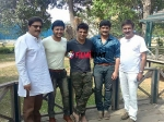 Shivarajkumar Visits The Sets Of Gandu Endare Gandu Ganesh Next