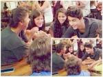 Srk Kids Aryan Khan Suhana Khan Latest Pics Of Their Cute Fight