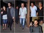 Sunny Leone Parties With Aamir Khan Rajkumar Hirani Riteish Deshmukh