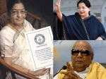 Susheela Entry Guinness World Records Brings Together Jaya Karunanidhi