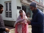 Urmila Matondkar Spotted In Kashmir Mohsin Akhtar Mir Post Wedding