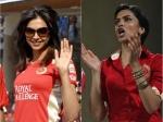 Pictures Of Deepika Padukone Rocking In An Rcb Jersey