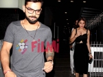 Exclusive Pics Anushka Sharma Virat Kohli Spotted Partying In Bandra