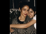Khushi Kapoor Shares A Picture With Mommy Sridevi
