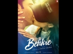 Befikre First Look Poster Ranveer Singh Kisses Vaani Kapoor