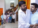 Photos Chiru 150 Movie Launched Mega Family Spotted Sporting Smiles Pk
