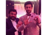 Pic Talk Varun Tej Posts An Adorabale Picture With Chiranjeevi