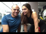Deepika Padukone New Workout Pics From The Xxx Sets By Her Trainer