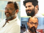 Dulquer Salmaan Unni R With Lal Jose