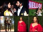 Inside Pics Of Aishwarya Sonam Others Hello Hall Of Fame Awards