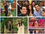 Aishwarya Rai Randeep Hooda Wasim Have Blast Kapil Sharma Tkss Pics