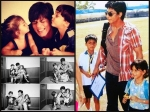 Pic Suhana Aryan Kissing Shahrukh Khan See Other Unseen Photos