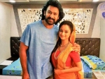 Here S What Happened When Tv Actress Met Baahubali Prabhas