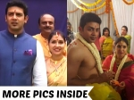 Photos Actors Raghu Mukherjee And Anu Prabhakar Tied The Knot
