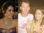 Rakul Preet And Raashi Khanna S Fan Moment With Brett Lee