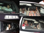 Bollywood Stars At Special Screening Of Shahrukh Khan Fan Pictures