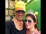 Akshay Kumar Twinkle Khanna Latest Selfie Shrek Universe