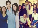 Katrina Kaif Poses With Sidharth Malhotra Baar Baar Dekho Sets