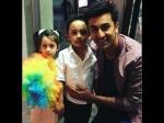 Ranbir Kapoor Poses With Sanjay Dutt Kids Shahraan Iqra