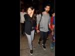 Shahid Kapoor Mira Rajput Spotted At Mumbai Airport Latest Pictures