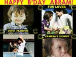 Abram Birthday Special Pictures Different Shades As He Turns Three