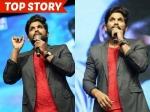 Allu Arjun Emotional Speech Pawan Kalyan Oka Manasu Audio Cheppanu Bro