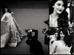 Black And White Pictures Of Aishwarya Rai Bachchan From Cannes