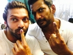 Arya Wants Start His Own Political Party With Vishal Win Next Election