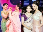 Pictures Of The Beautiful Deepika Padukone And Madhuri Dixit
