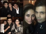 Karan Johar Birthday Party Pictures Shahrukh Abram Kareena Ranbir Sid