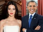 Kendall Jenner Meets President Obama