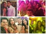 Karan Singh Grover Bips Reception Drashti Dhami Surbhi Attend Pics