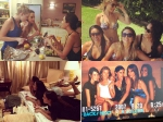Lisa Haydon Having Fun With Her Girlfriends