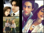 Navya Naveli Nanda Aryan Khan Spotted Together New Pictures Sevenoaks