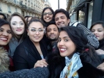 Rani Mukerji New Pictures Spotted With Fans In Paris