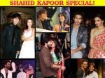 Shahid Kapoor Rare Pictures With Aishwarya Katrina Deepika Other Divas