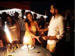 Siddhant Karnick Celebrating Megha Gupta Birthday