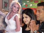 Zareen Khan Hinta At Salman Khans Wedding With Iulia Vantur
