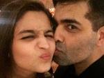 Alia Bhatt Hugs And Kisses Karan Johars New Dog