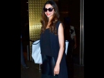 Deepika Padukone Spotted At Mumbai Aiport In Black Attire Latest Pics