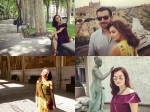 Dia Mirza Holidaying In Madrid Spain