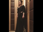 Kajol Latest Instagram Post In A Black Saree Picture
