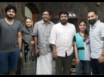 Mohanlal Photo With Fazil Family Fahadh Nazriya Goes Viral