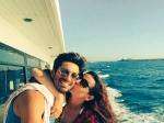 Look Whom Sanaya Irani Mohit Sehgal Met Spain Holiday Pics