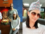 Sunny Leone And Daniel Weber Visit Nepal