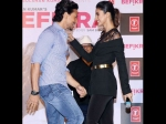 Tiger Shroff Disha Patani On Their Relationship Befikra Launch Picture