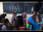 Freida Pinto With Michelle Obama For The Let Girls Learn Initiative